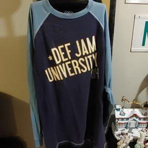 Def jam long sleeve 84 tribute shirt